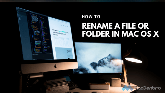 Renaming Files in Terminal